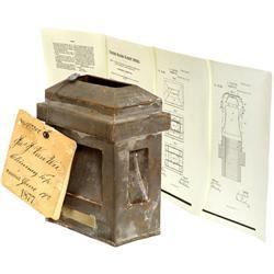 "Original U.S.-Patent Model ""Chimney Top"" b"