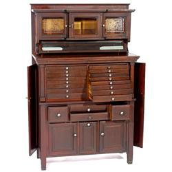 Mahogany Dentist's Cabinet, um 192