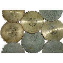 """14 Blechplatten """"Polyphon"""" (Ø 39,8 cm)"""