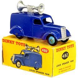Dinky Toys: Lautsprecher-Wagen (Nr. 492