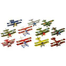 Sammlung Metall-Flugzeuge, um 1980