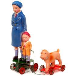 Frühes japanisches Celluloid-Spielzeug, 193