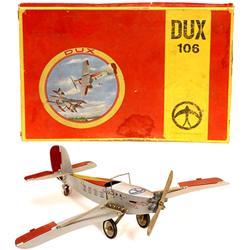 """Metall-Flugzeug-Baukasten """"Dux Nr. 106"""""""