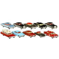 """10 Modellautos """"Corgi Toys"""", 1960"""