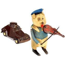 2 mechanische Spielzeuge, ab 1934