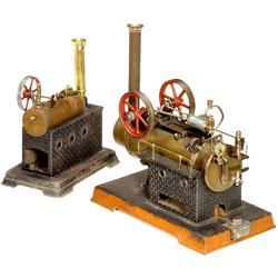 """2 Dampfmaschinen von """"Doll"""""""