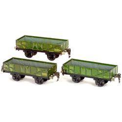 """3 Hochbordwagen """"Märklin Nr. 1761"""