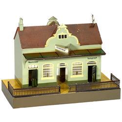 """Vorortbahnhof """"Märklin"""" (Spur I), um 191"""