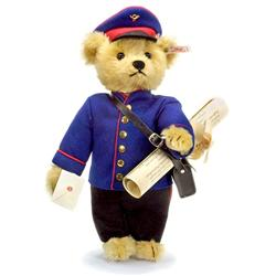 Steiff: Johannes, der Briefträger-Teddybär (Nr. 1234)