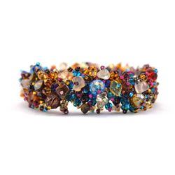 Magnetic Stone Caterpillar Bracelet