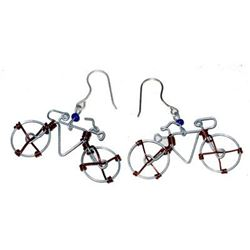 Ride Into Your Dreams Wearing These Bicycle Earrings