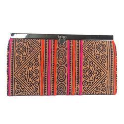 Hmong Batik Clutch Bag Made in Thailand