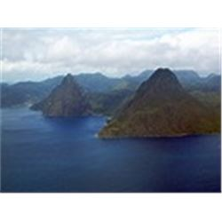 Vacation in the Beautiful Caribbean Island of St. Lucia for at  7 Nights For 4 People