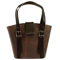 Recycled Rani Conserve Bag in Red Wine Color