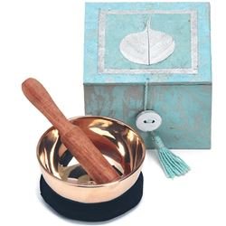 "Mediation Bowl Box 3"" Swirling  Bodhi (Handmade)"