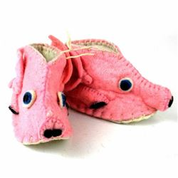 Cute Piggy Zooties Baby Booties