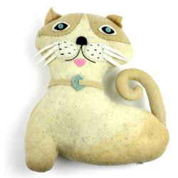 Fel t Handmade  Cat Plush Stuff Animal