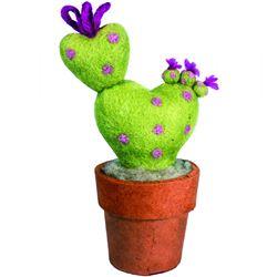 Felt Love Catcus Plant Home Decor