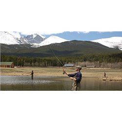 Fly Fishing Guided Adventure in Boulder, Colorado For 2/Lodging and Airfare Included