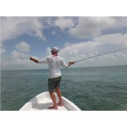Fly Fishing in Belize For 2 People In  a Guided Fishing boat