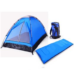 3 Piece Camping Gear Set and a Game of  Domino for  Camping