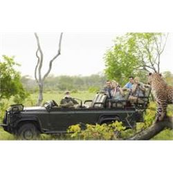 Ultra Luxury South Africa Photo Safari for 6 Nights For 2 People