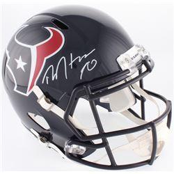 e6730085a DeAndre Hopkins Signed Texans Full-Size Speed Helmet (JSA COA)