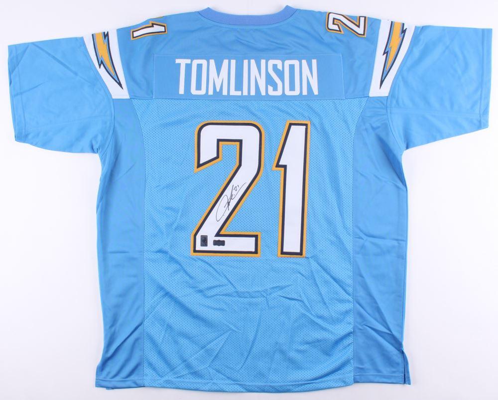 the latest 65311 e201a LaDainian Tomlinson Signed Chargers Jersey (Radtke COA ...