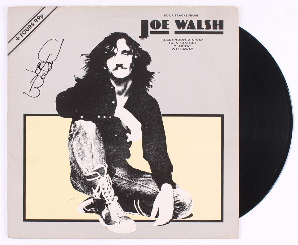 Joe Walsh Signed