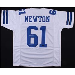 527e22318b2 Nate Newton Signed Cowboys Jersey Inscribed