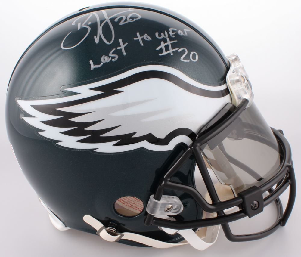 the best attitude 892c7 bf455 Brian Dawkins Signed Eagles Authentic On-Field Full-Size ...