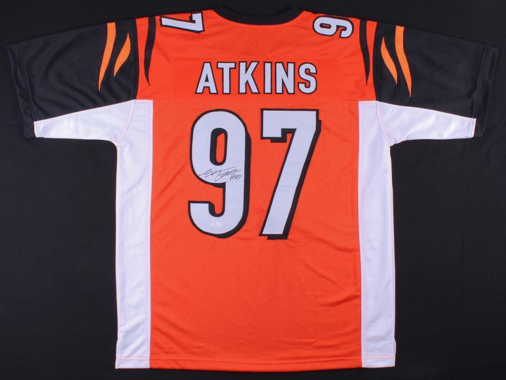 finest selection a3359 6d496 Geno Atkins Signed Bengals Jersey (JSA COA)