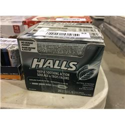 Halls Extra Strong Lozenges (20pkx 9pc)