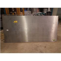 "Aluminum Sheet 47""x 95"" x 3/16"""