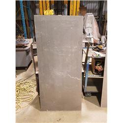 "Aluminum Sheet 28""1/8 x 62"" x 7/32"""