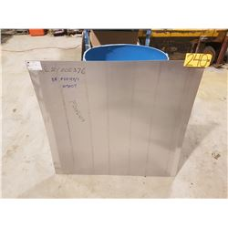 "Aluminum Sheet 37""3/4 x 36"" x 1/32"""