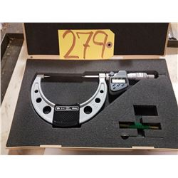 "Mitutoyo 342-364 3""-4"" IP65 Digimatic Point Micrometer W/ Data Output"