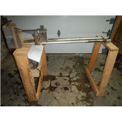 Portable Rockwell Wood Lathe model 46410 motor 1/2HP