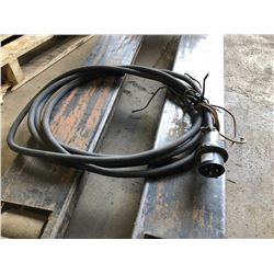 Cable and plug