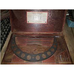 "Starrett No. 224 Set E 16""-20"" Micrometer Caliper Outside Interchangeable Anvils"