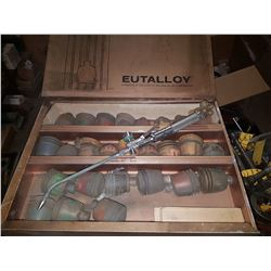 Eutectic & Castolin Rototec Shaft Protector Kit with 26 cases of powder