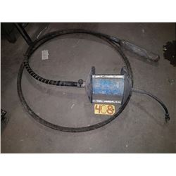 Multiquip CV2 concrete vibrator with high frequency cycle concrete vibrator Head (tested)