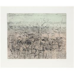 Anne Poor, Untitled, Aquatint Etching