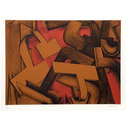 Jasha Green, Untitled 27, Lithograph