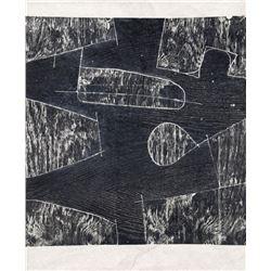 Mel Kendrick, Untitled, Woodcut