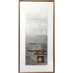 Robert Alan Devoe, Earth Rise II, Monoprint