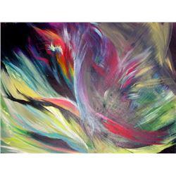 Andree Amarica, Lightness, Acrylic Painting