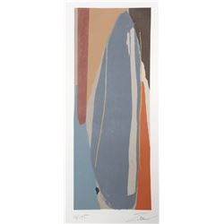 Larry Zox, Niagara Series No. 5, Serigraph