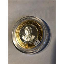 Silver Strike $10 Casino Coin .999 Fine Silver Limited Edition SAMS TOWN *BILL BOYD* Las Vegas NV