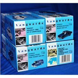 Vanguards Precision Diecast Replica,4 pcs,  1/43 s